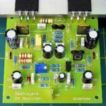 Mạch amply 200W dùng cặp sò C5200-A1943