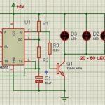 Mạch đèn chớp đơn giản dùng ic NE555