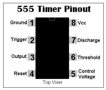 Mạch điều khiển đèn tự động dùng quang trở và ic NE555