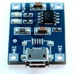 Mạch sạc pin Li-ion tự động dùng ic TP4056