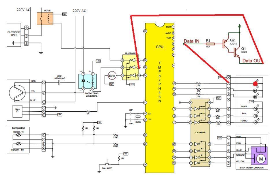 Hướng dẫn độ mạch để fix một số Pan máy lạnh (điều hòa) và máy giặt