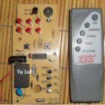 Hướng dẫn kỹ thuật sửa mạch quạt điều khiển từ xa