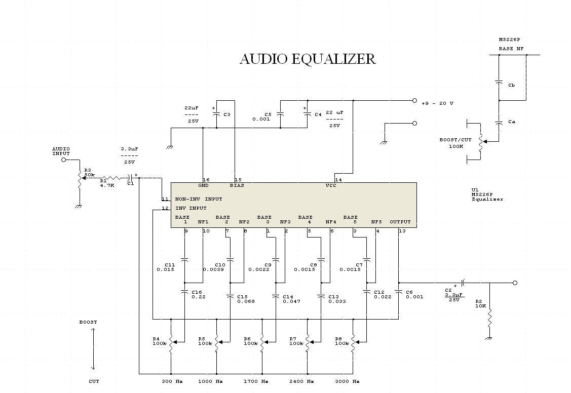 Mạch chỉnh tần số âm thanh (Audio Equalizer)