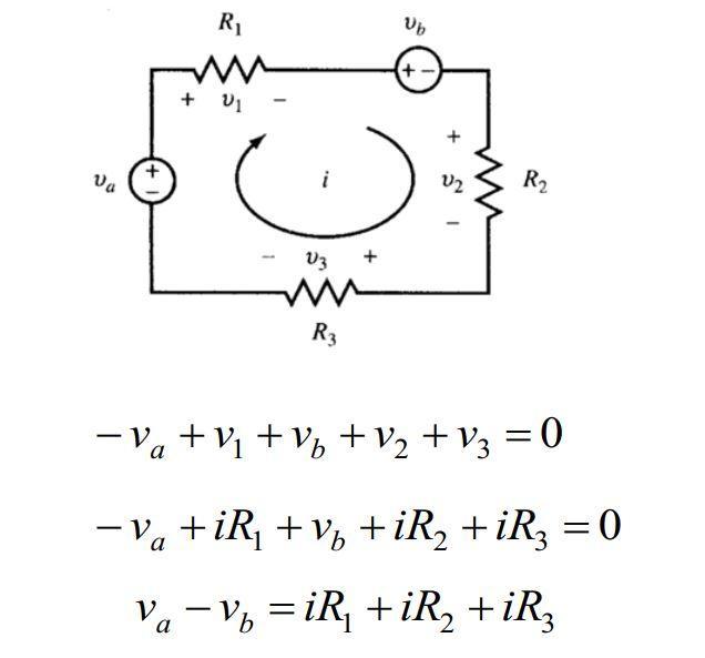 Quy tắc vòng điện áp và Quy tắc nút dòng điện