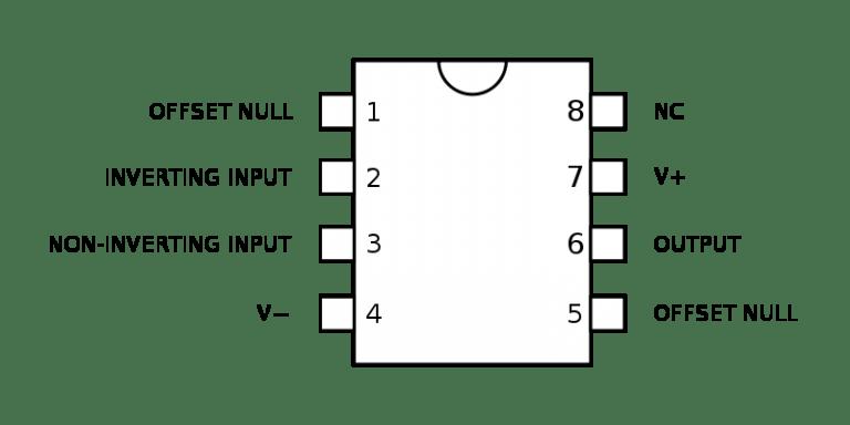 Tìm hiểu nguyên tắc hoạt động IC khuếch đại thuật toán 741