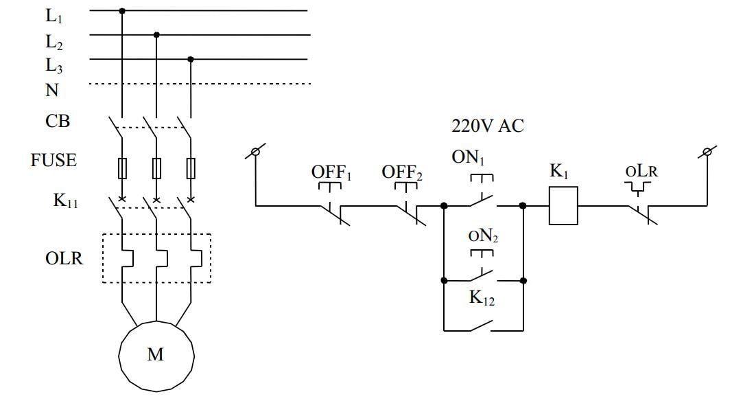 Tổng hợp một số mạch điện dùng trong công nghiệp