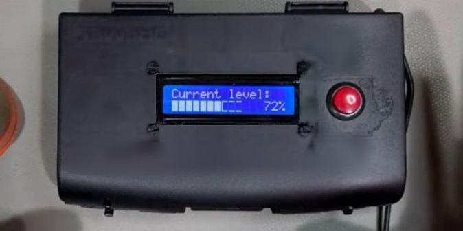 Đo mức nước, mức nhiên liệu đang có trong bồn, bể chứa sử dụng cảm biến siêu âm SR04 và Arduino