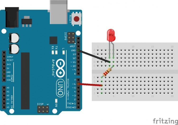 Arduino cơ bản 02 - Phần 2: PWM | Thay đổi ánh sáng của LED trên Arduino