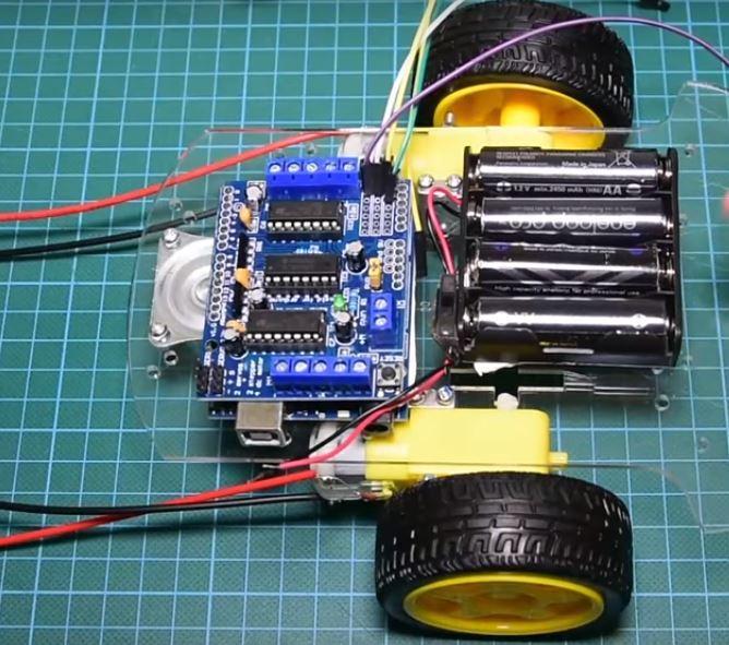 Chế tạo Robot tránh vật cản - Hướng dẫn chi tiết